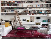 Beautiful and interesting interiors with the use of carpets