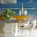 2-white chairs