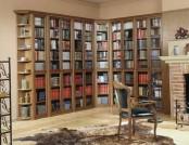 The correct location bookshelves