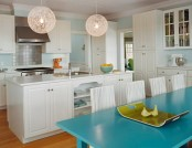 Modern kitchen in classical style