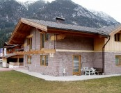 Luxury chalet style house