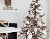 Beautiful and alternative tree for New Year