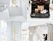 New Year Interior apartments in Scandinavian style