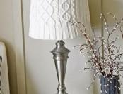 Beautiful and interesting lamp