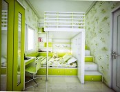 20 Shades of green color in the interior