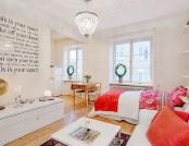 Bright studio apartment in Sweden