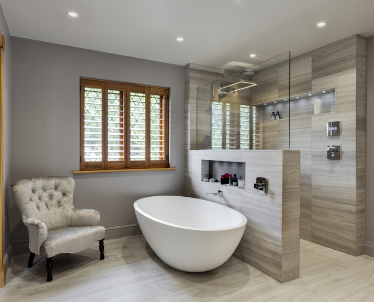 Gray.bathroom.Modern