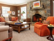 Orange Color in Interior Design