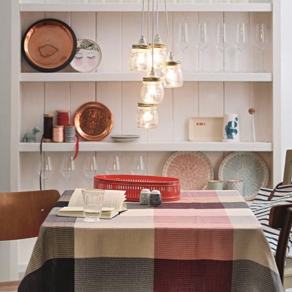 Diy Mason Jar Chandelier Home Interior Design Kitchen And