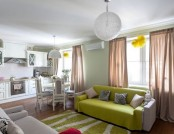Self-Designed Apartment with English Motives