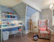 Small Female Paradise: Dream Workshop Design in Gustavian Style