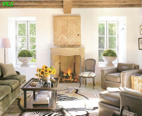 1-country-style-interior-two-small-windows-fireplace-gray-living-room-furniture-sofa-arm-chairs-standard-lamp (1)