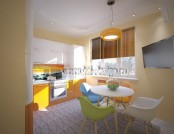 Tropical-Island-Style Apartment Project: Yellow, Orange & Green