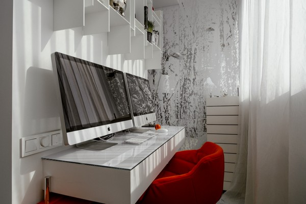 1-work-space-balcony-loggia-red-arm-chair