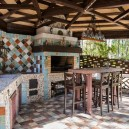 11-beige-and-turquoise-garden-gazebo-design-multicolor-ceramic-tiles-mosaic-tabletop-vintage-barbecue-set-bar-table-ikea-bar-stools-retro-lamp-outdoor-fireplace