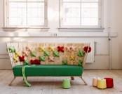 Cross-Stitch Pattern in Interior Design