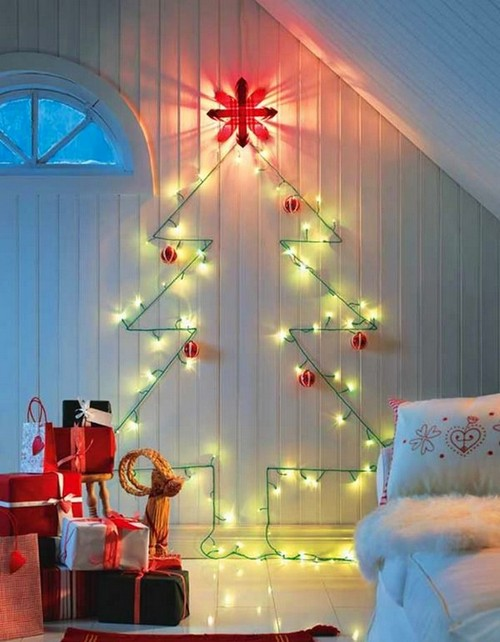 13-diy-hand-made-wall-christmas-tree-christmas-lights-garland