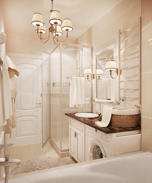 13-neo-classical-style-pastel-shower-cabin-washing-machine-basin-cabinet-beige-tiles