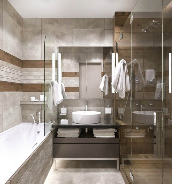 15-gray-beige-brown-interior-for-man-bathroom-faux-wood-and-concrete-tiles