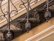 Forged Stair Railings: How to Fit Them in Different Interior Styles