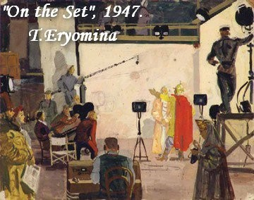 16-bentwood-chair-in-old-interior-soviet-painting-on-the-set-movie-shooting
