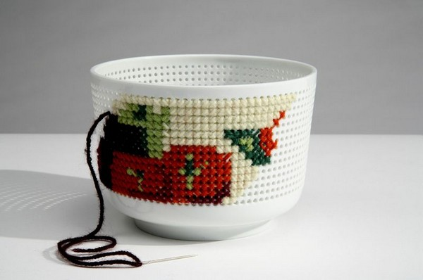 17-cross-stitch-pattern-in-interior-design-bowl-by-Ionna-Vautrin-perforated-predrilled-holes