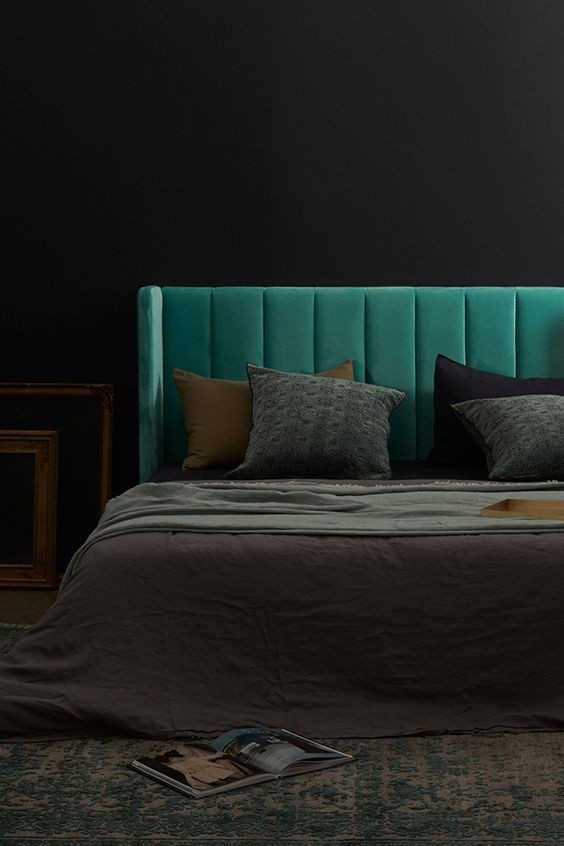 17-kale-color-bedroom-headboard-upholstery-green