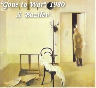 19-bentwood-chair-in-old-interior-soviet-painting-soldier-leaving-home-for-war