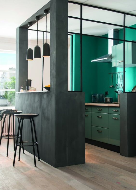 19-kale-color-kitchen-set-cabinets-green