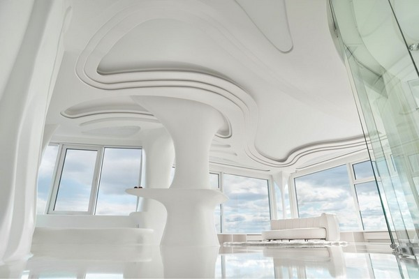 2--total-white-glossy-futuristic-style-interior-design-panoramic-windows-self-levelling-floor-columns-3D-ceiling