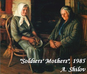 21-bentwood-chair-in-old-interior-soviet-painting-soldier-mothers