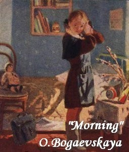 24-bentwood-chair-in-old-interior-soviet-painting-morning-preparations-pioneer-girl