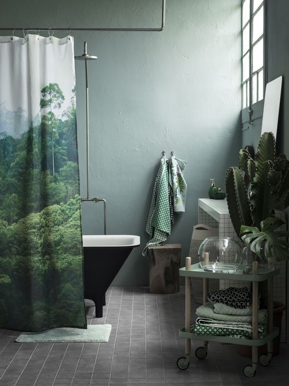 28-kale-color-shower-curtain-towels-bathroom-walls-green