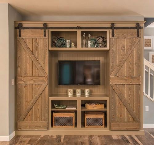 3-barn-wooden-sliding-doors-in-interior-design-concealed-tv-set-living-room