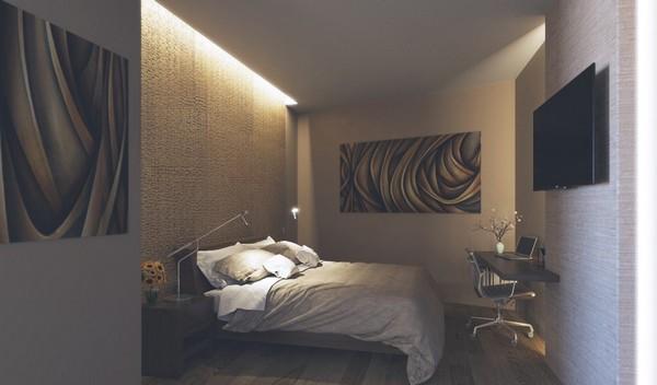 3-bedroom-lighting-work-space-in-bedroom-ceiling-niche-lights