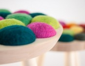 Cool with Wool: Designer Stools from Norway