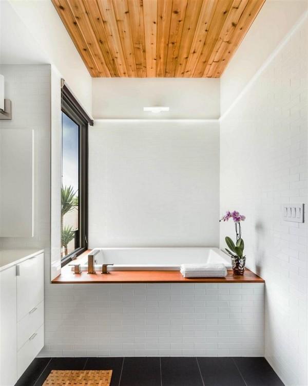4-bathroom-interior-design-plastic-faux-wood-ceiling-planks
