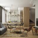 4-cozy-minimalist-living-room-transparent-chairs-catellan-italia-oak-table-pina-low-chairs-louis-ghost-stealth-kitchen-bonaldo-sofa-draenert-table-carl-hansen