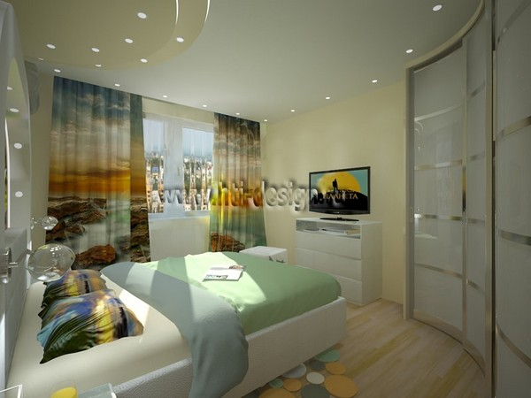 4-tropical-island-style-bright-interior-wave-shaped-closet-digital-photo-printing-on-curtains-stretch-ceiling