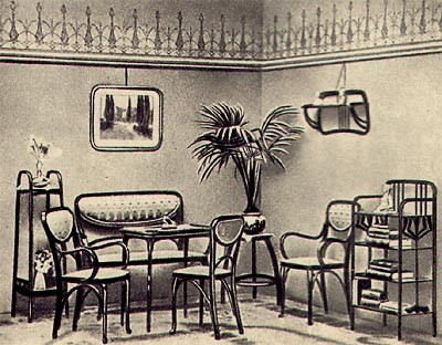 5-bentwood-chair-furniture-in-old-interior-design