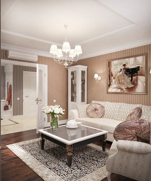 5-neo-classical-style-pastel-living-room-stripy-wallpaper