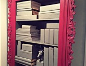 DIY Bookcase: New Life of Your Basic Cabinet
