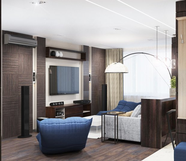 6-gray-beige-brown-interior-for-man-living-room-big-lamp-tv-set