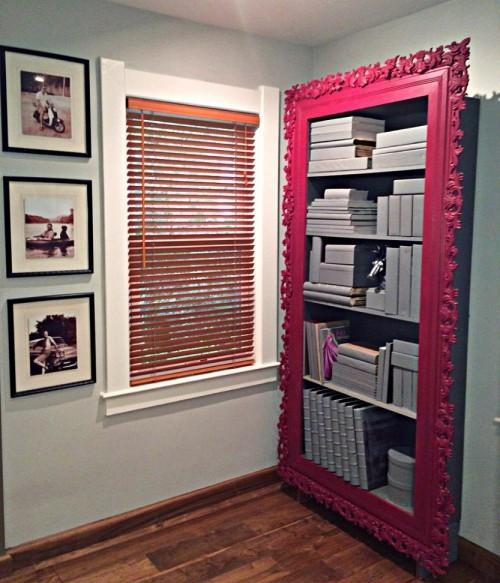 7--diy-hand-made-framed-bookcase-bookstand