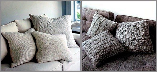 7-knitted-hand-made-decorative-couch-pillows-in-living-room-interior-design-gray
