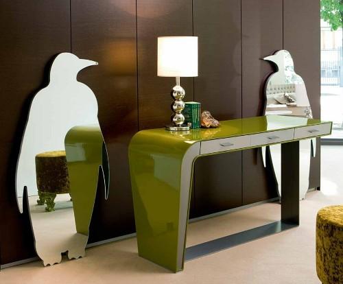 7-mirror-wall-stickers-decor-penguines