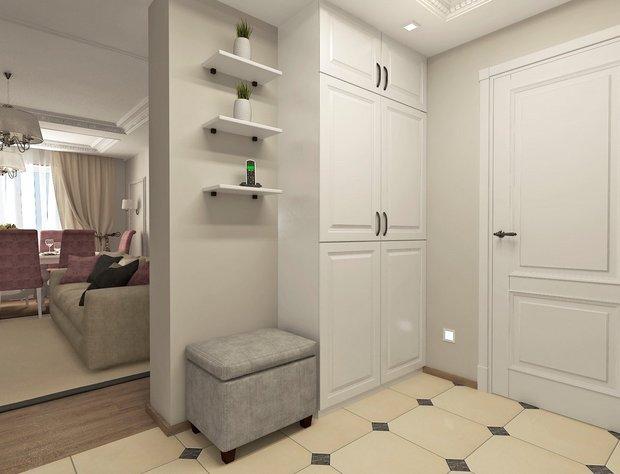 8-neutral-neo-classical-interior-white-doors-beige-floor-tiles-hallway-motion-sensors