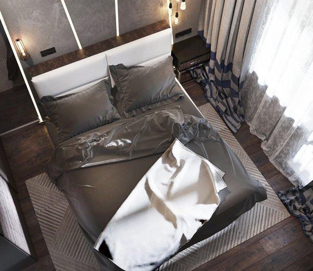 9-2-gray-beige-brown-interior-for-man-bedroom-bed