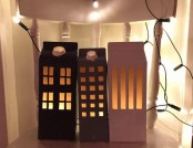 Super-Simple DIY: Light Houses out of Milk Cartons
