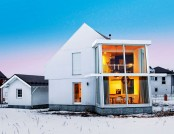 Big Laconic and Minimalist Scandinavian-Style House